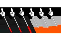 pointing bar
