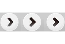 monotone round button